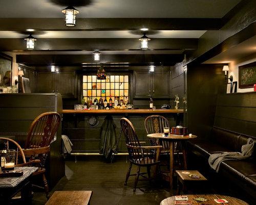 Irish Pub Booth Home Design Ideas, Pictures, Remodel And Decor