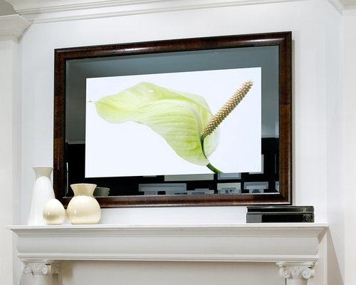 S ura living room for Tlvision miroir