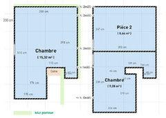 Vos avis sur la division d 39 une grande chambre en 2 chambres for Chambre 9m2 loi