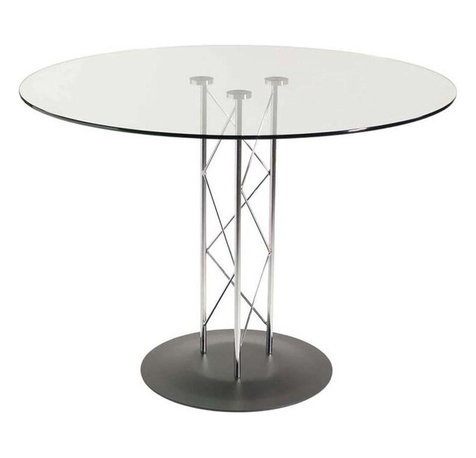 Glass Black Round Dining Tables Houzz