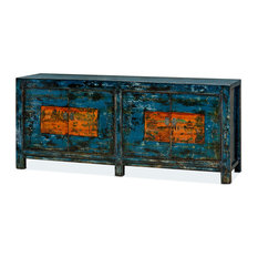 China Furniture And Arts Tibetan Style Reclaimed Wood Sideboard