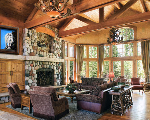Western Interior Design Ideas i will be so jealous if you get this one beautiful rustic great room western homestead colorado lynne barton bier home on the range interiors Inspiration For A Contemporary Home Design Remodel