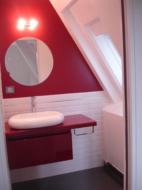 petits concepts lavabos pour mini salle de bains sous les toits