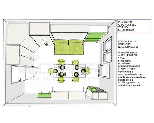 Dimensioni Tavolo Cucina 4 Persone. Oggetti E Mobili Di Design Su ...