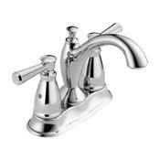 Delta Linden 2 Handle Centerset Bathroom Faucet, Chrome, 2593-MPU-DST