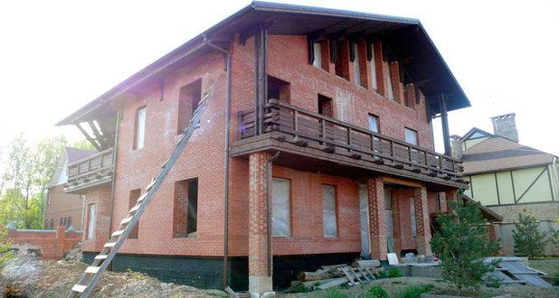 Современный Фасад by АрхГеоком