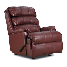 Shop Leather Wingback Recliner Chair Products On Houzz