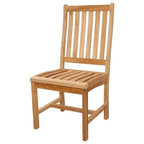 wilshire slat back dining chair unfinished balboa side chair