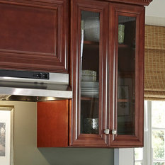 & Co. St. James Mahogany Kitchen Cabinets - The look of a kitchen ...