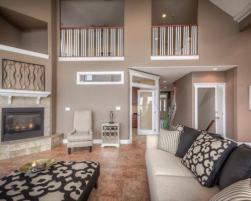 Large contemporary living room design ideas renovations for Creative interior design marco island