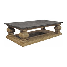 Traditional Natural Stone Coffee Tables Houzz