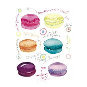 French Macarons Print Tea Time Rendezvous By lucileskitchen