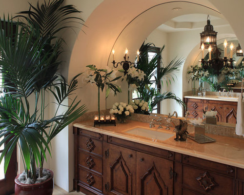 spanish style bathroom home design ideas pictures