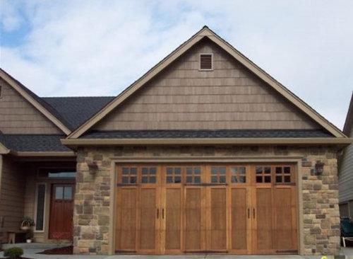 Custom Home Garage Doors