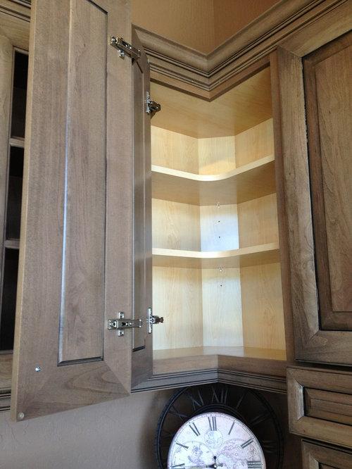 kitchen upper corner cabinet ideas 1