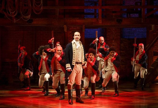 Hamilton! a musical by Lin-Manuel Miranda