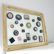 Get Organized: Magnetic Makeup Board