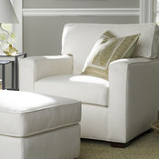 PB Square Upholstered Armchair
