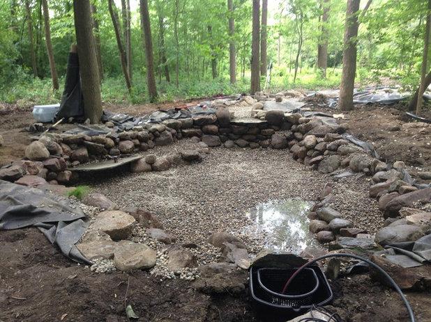 Come fare un laghetto artificiale in giardino for Giardino artificiale