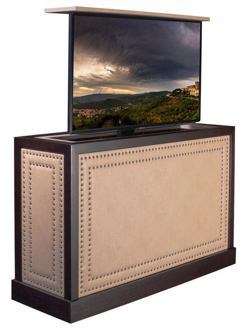 Traditional TV Lift kit Cabinet furniture Comes in 16 Designer Finishes and diy