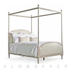 Eloquence Eloquence Dauphine King Canopy Bed In Beach House