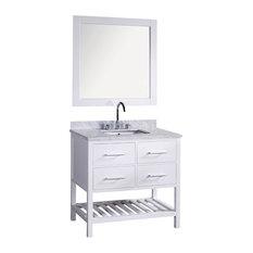 Legion Furniture 30 Inch Vanity Mirror Bathroom Vanities Houzz