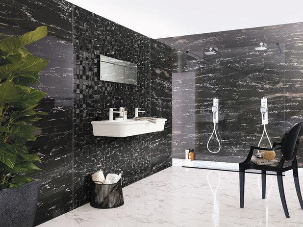 Opter pour du marbre dans la salle de bains bonne ou for Salle de bains porcelanosa