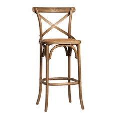 Parisian Bistro Woven Bar Stools And Counter Stools Houzz
