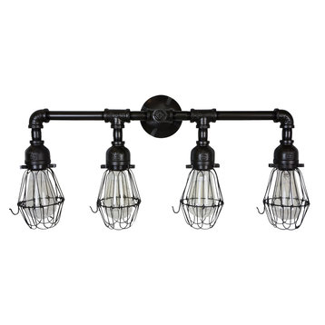 Bathroom Vanity Lights Black Finish : Lighting Fixtures For Bathroom Vanity Black Bathroom Vanity Lights Houzz