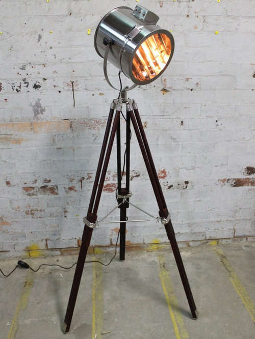 vintage industrial tripod floor lamp collection floor lamps. Black Bedroom Furniture Sets. Home Design Ideas