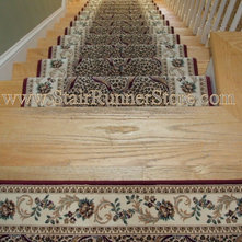 Stair runners available in many styles for Creative home designs llc