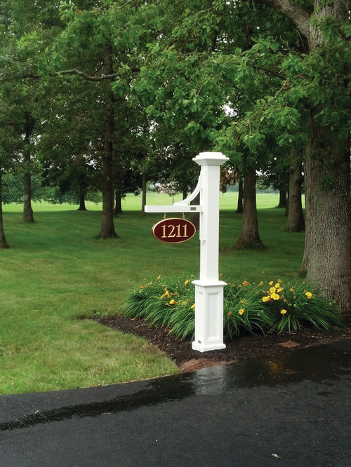 Walpole outdoors installations lamp posts mail boxes for Walpole outdoors