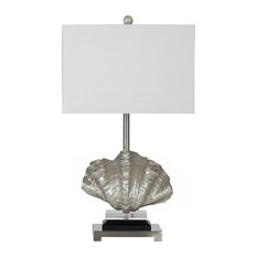 Shop Silvered Conch Shell Lamp Products On Houzz