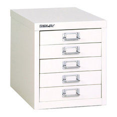 19 5-Drawer Filing Cabinets