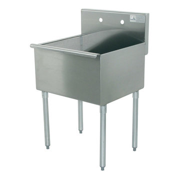 Stainless Steel Utility Sink With Legs : Utility Sinks: Find Utility and Laundry Sink Designs Online