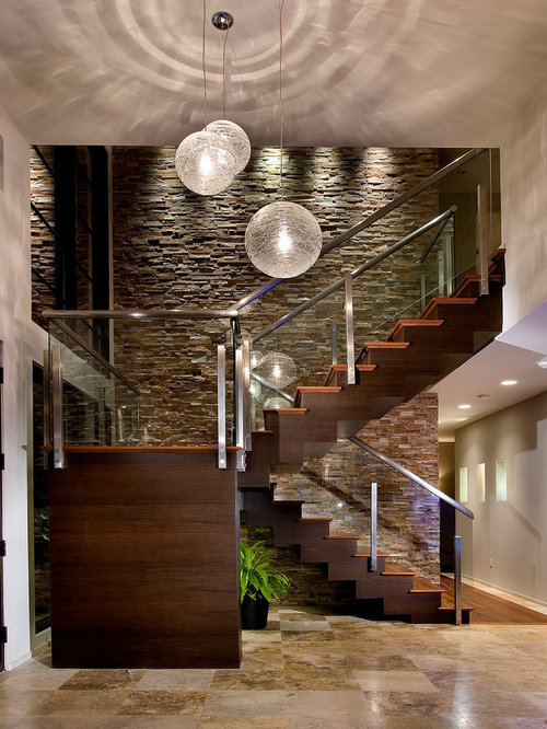 Stair Wall Home Design Ideas, Pictures, Remodel and Decor