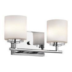 Vanity Lights Parts : Kichler - Two Light Chrome Vanity - This two light vanity is part of the O Hara Collection and ...