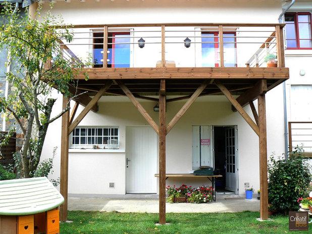 8 questions se poser avant d 39 am nager une terrasse suspendue for Terrasse en hauteur beton