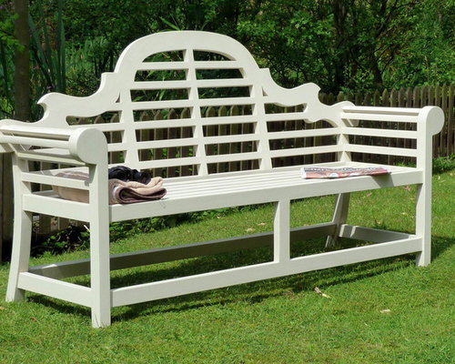 Painted Garden Benches
