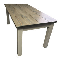 Stearns Drifwood Grey Harvest Table 48 Inches This Table