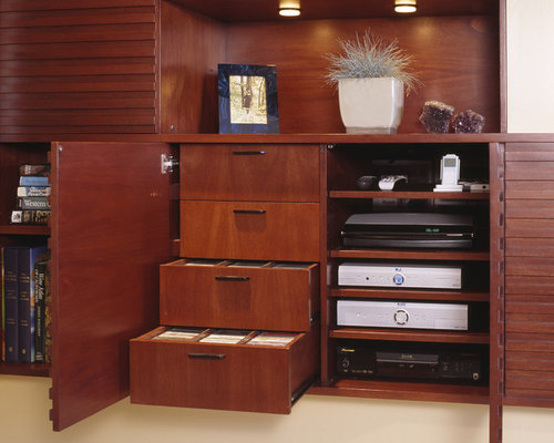 Cd Dvd Media Storage Cabinet Home Design Ideas, Pictures, Remodel and Decor