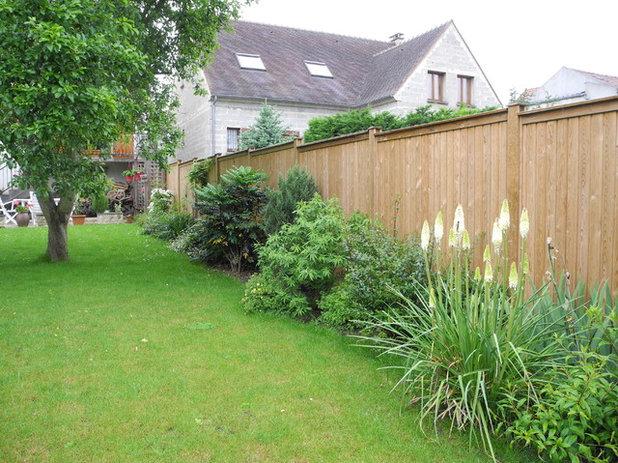 10 cl tures en bois pour d limiter son jardin for Cloture jardin contemporaine