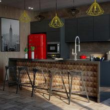 Kitchen for sommelier/ Кухня-студия для главного Сомелье города