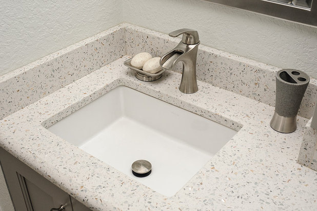See a Couple's New Spa-Like Bathroom From Lowe's and Houzz