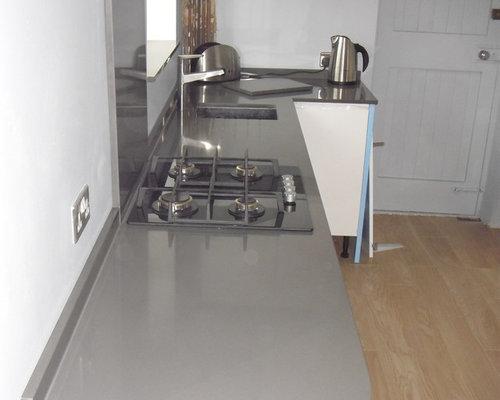 Silestone cemento home design ideas renovations photos for Silestone sink reviews