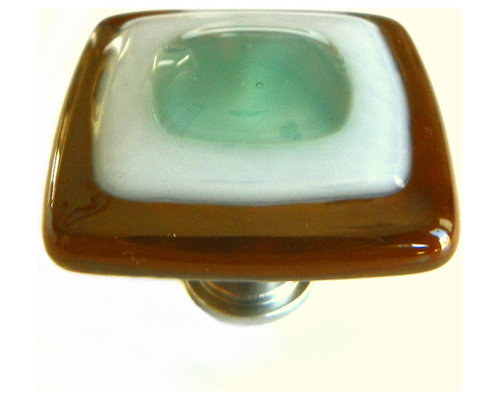 Cabinet Hardware - Artisan Fused Glass Knobs and Pulls for Kitchen and More.