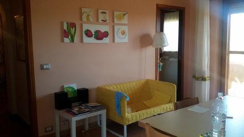 Cucina Ciliegio Colore Pareti. Trendy Componibile With Cucina ...