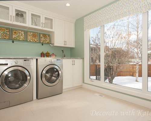 L shaped Laundry Room Design Ideas Renovations amp Photos