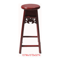 Asian Bar Stools And Counter Stools Houzz