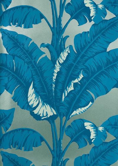 dschungelprint und palmenprint im trend 13 tropische tapeten und textilien. Black Bedroom Furniture Sets. Home Design Ideas